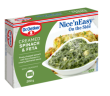 Nice'nEasy On The Side Creamed Spinach & Feta