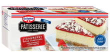 Patisserie Strawberry Cheesecake