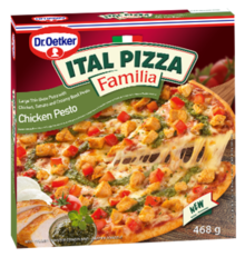 ITAL PIZZA FAMILIA Chicken Pesto 468 g
