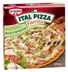 ITAL PIZZA FAMILIA Bacon & Spring Onion 514 g