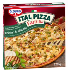 ITAL PIZZA FAMILIA Chicken & Jalapeño 529 g